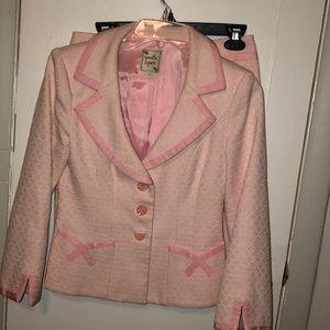 Nanette Lepore- pink suit. Excellent condition